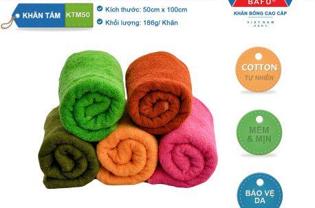 khăn tắm bông KTM 50