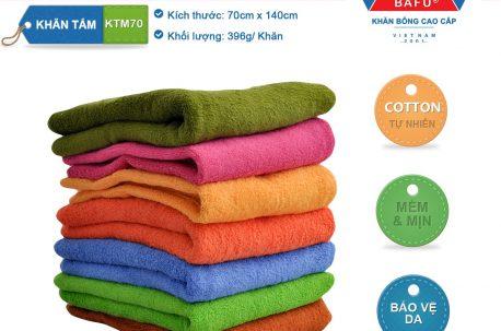 khăn tắm bông KTM70